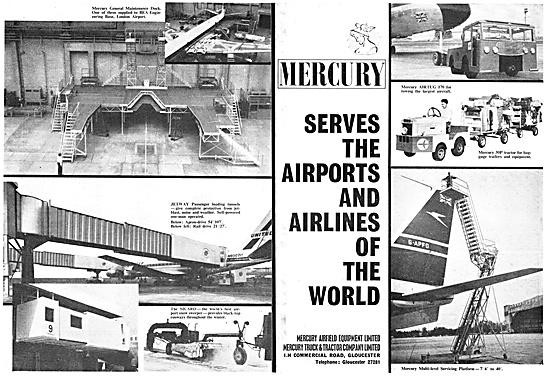 Mercury Airfeild Equipment .Tugs & Ground Support Equipment