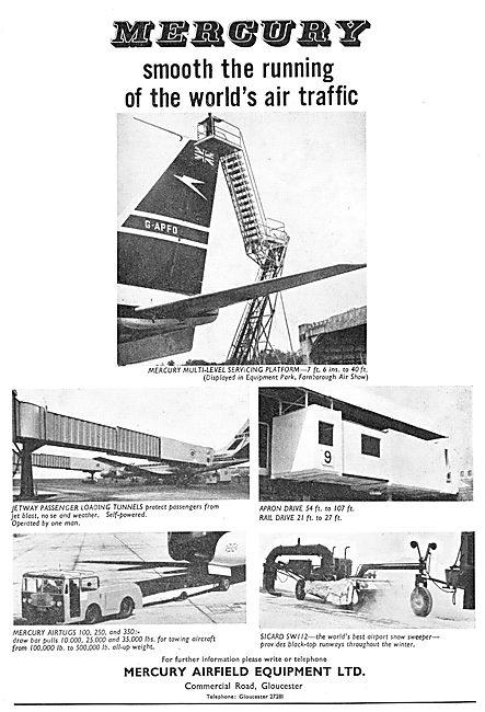 Mercury Servicing Platforms & Passenger Handling Tunnels