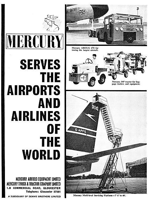 Mercury Airfield Ground Handling Equipment - Tugs & Trolleys