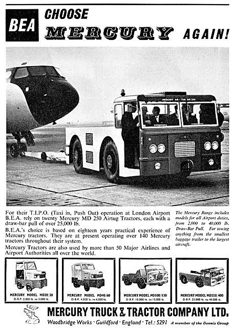 Mercury Airfield Tractors