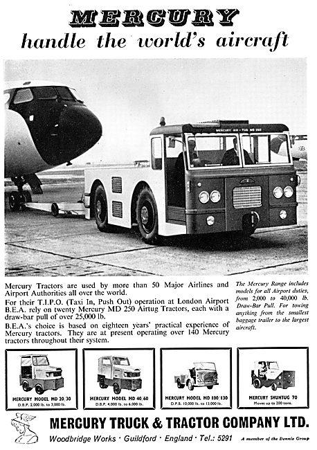 Mercury Tugs & Ground Service Vehicles