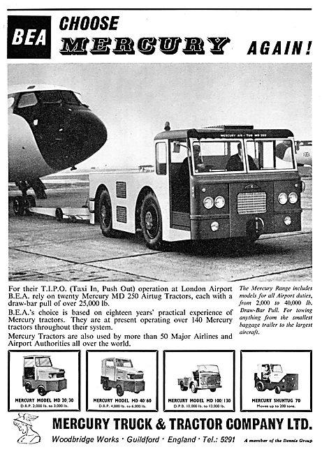 Mercury Tugs & Ground Service Vehicles - MD250