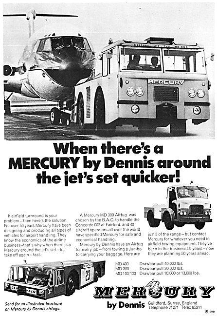 Dennis Mercury Aircraft Tugs - Mercury MD 300 Airtug