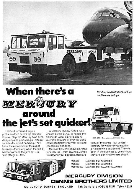 Dennis Mercury Aircraft Tugs & Tractors