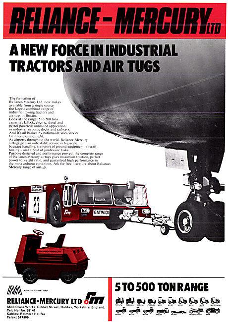 Reliance-Mercury Industrial Tractors & Tugs