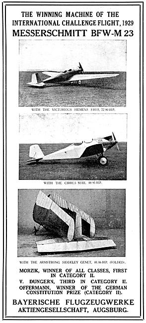 Messerschmitt BFW-M 23   Bayerische Flugzeuwerke