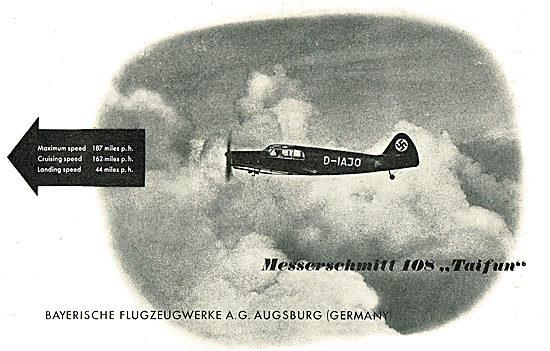 Messerschmitt 108 Taifun: D-IAJO