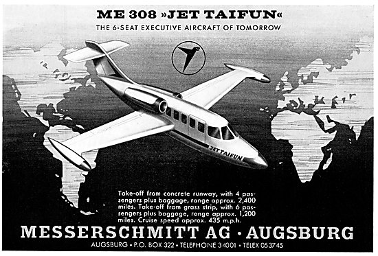 Messerschmitt ME 308 Jet Taifun