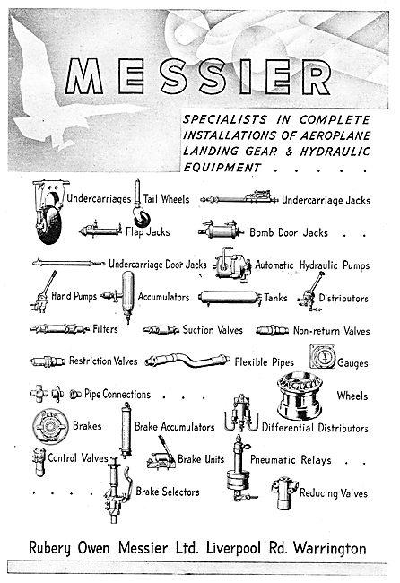 Rubery Owen Messier Hydraulic Components