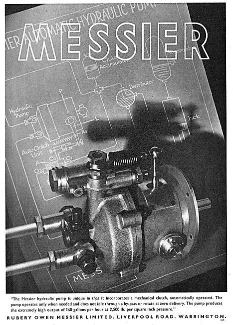 Rubery Owen Messier - Aero Landing Gear & Hydraulic Equipment