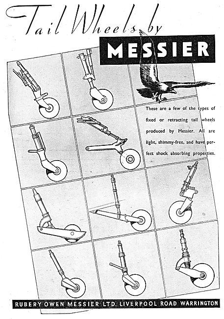 Rubery Owen Messier - Aircraft Tailwheel Assemblies