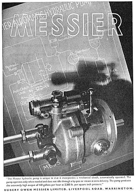 Rubery Owen Messier : Hydraulic Pumps