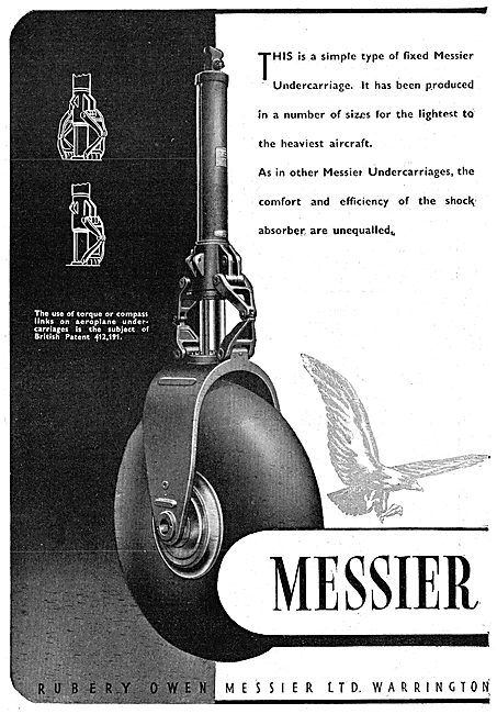 Rubery-Owen Messier Landing Gear