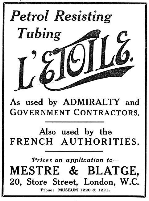 Mestre & Blatge Petrol Resistant Tubing