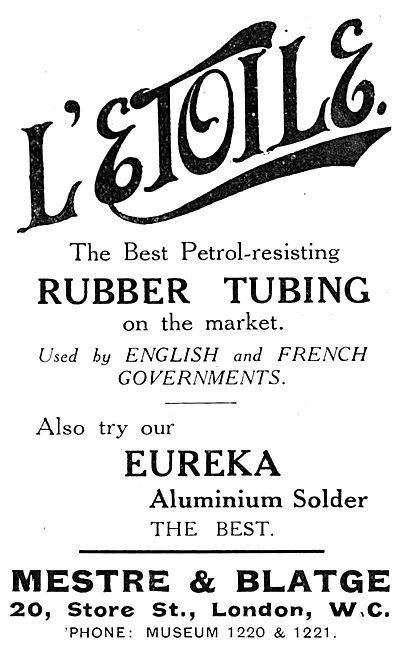 Mestre & Blatge L'Etoile Petrol Resistant Tubing