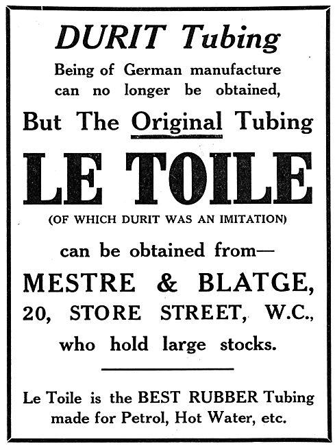 Mestre & Blatge Le Toile Petrol Resistant Tubing