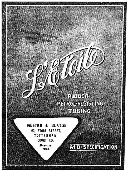 Mestre & Blatge L'Etoile Petrol-Resistant Rubber Tubing