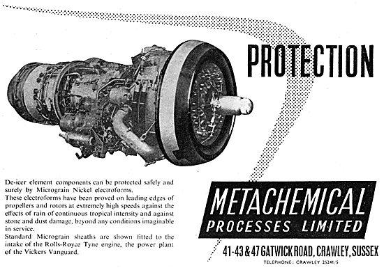Metachemical De-Icer Elements