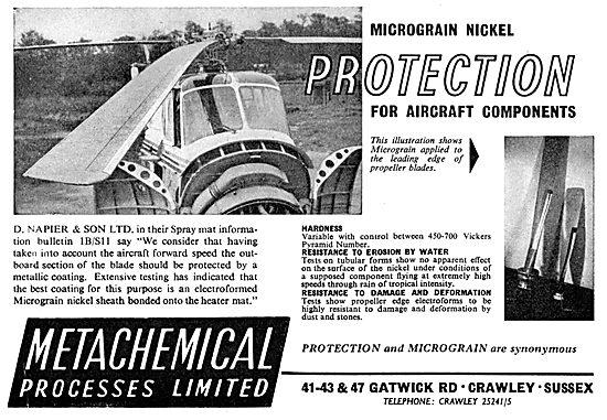 Metachemical Micrograin Nickel Protective Coating