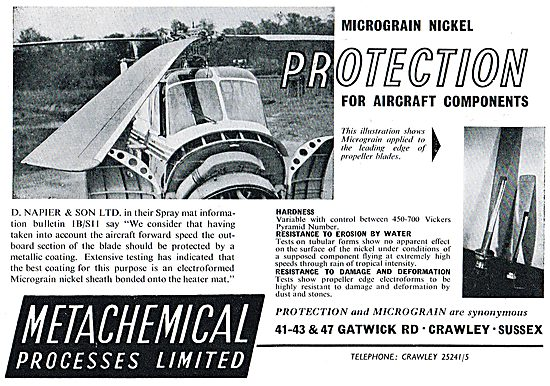 Metachemical Micrograin Nickel Protection For Napier Spray Mats