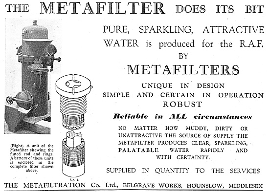 Metafiltration - Water Filtration Equipment