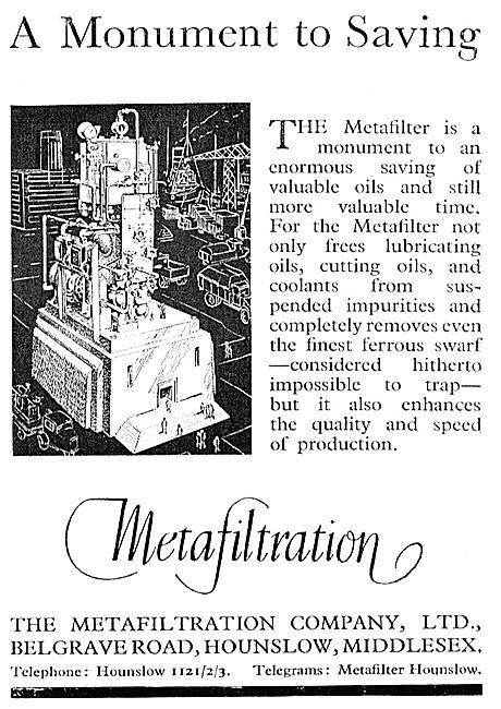 Metafiltration - Filtration