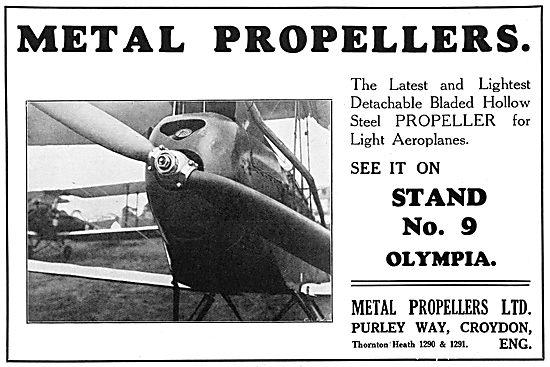 Metal Propellers 1929