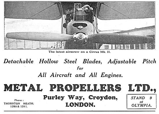 Detachable Hollow Steel Aircraft Prop Blades - Metal Propeller