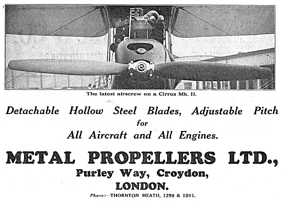 Metal Propellers - Suitable For All Aircraft And Engines