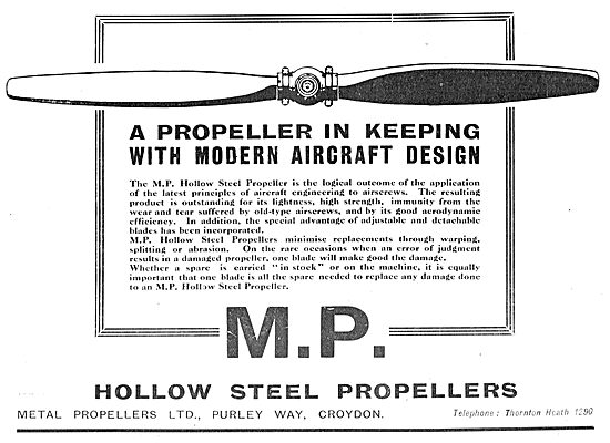 MP Modern Design Metal Propellers