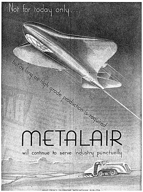 Metalair Aircraft Production Engineering