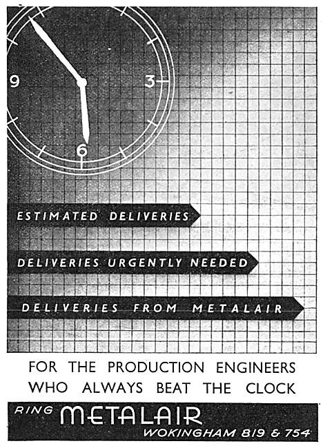 Metalair Aircraft Production Engineering