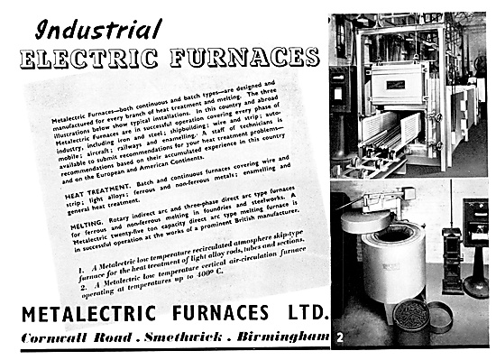 Metalectric Industrial Furnaces