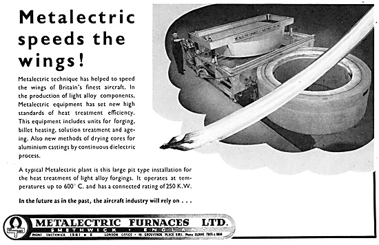 Metalectric Furnaces Ltd. Smethwick. Industrial Furnaces