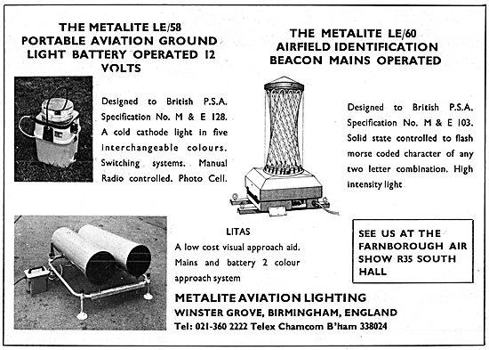 Metalline Aviation Lighting - Metallite LE/60 Portable Lights