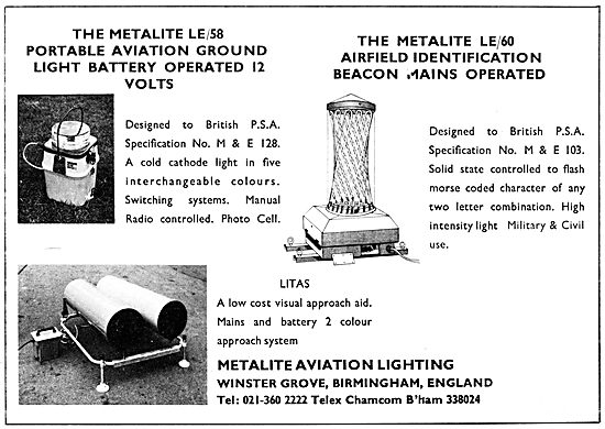 Metalite Aviation Lighting - Metalite LE/60 Airfield Beacon