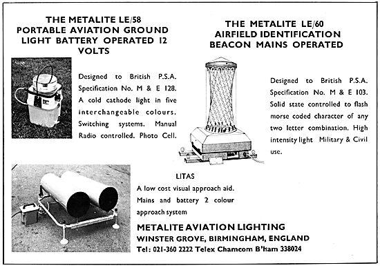 Metallite LE/58 Portable Lights LITAS