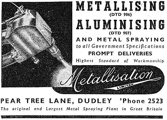 Metallisation - Metallising