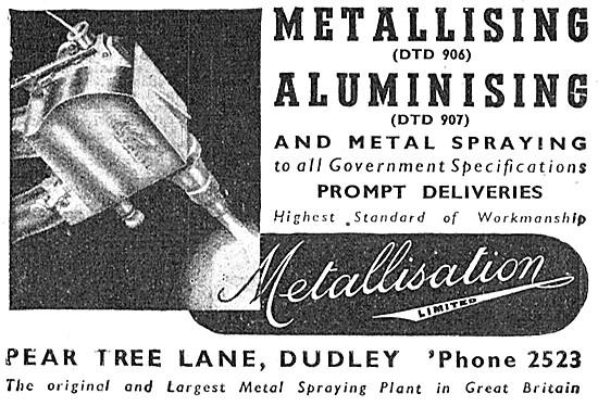 Metallisation Aluminising & Metal Spraying