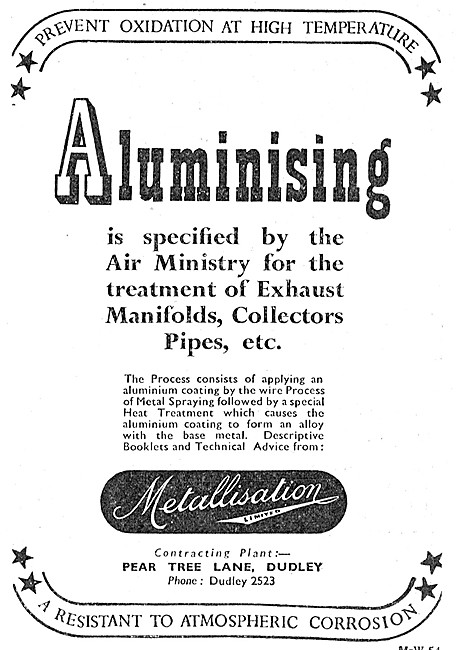 Metallisation Alumnising Process