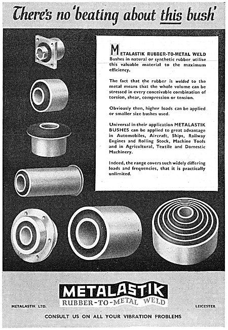 Metalastik Anti-Vibration Mountings & Couplings