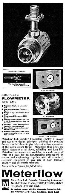 Meterflow Ltd. Impeller Flowmeters