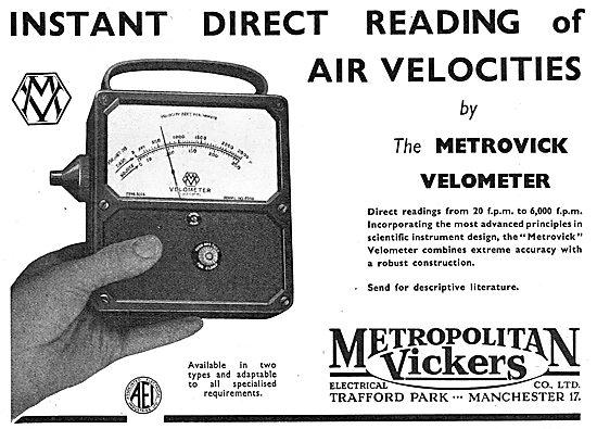 Metrovick Velometer