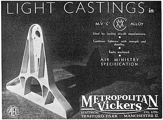Metropolitan Vickers  - Metrovick Castings