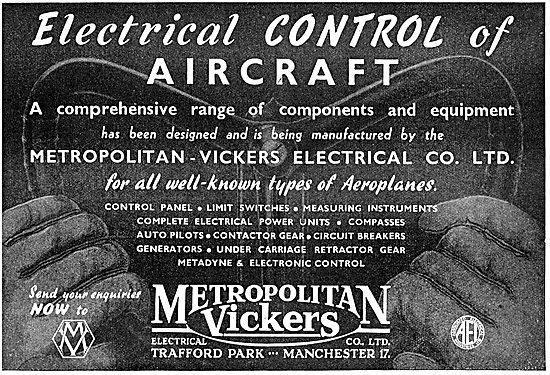 Metrovick - Electrical Controls