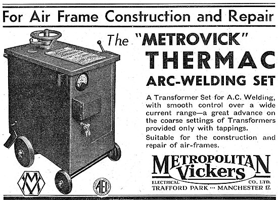 Metrovick - Arc Welding Set