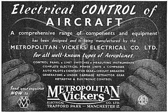 Metrovick Electrical Equipment