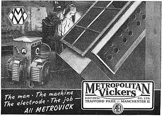 Metrovick Welding Equipment