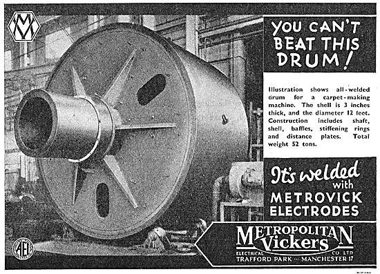 Metrovick Arc-Welding Electrodes