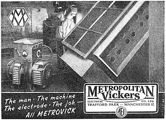 Metrovick Arc Welding Electrodes